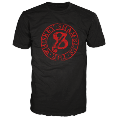 Whiskey Shambles - 2014 Mens Stamp T-Shirt (black)