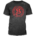Whiskey Shambles - 2014 Mens Stamp T-Shirt (charcoal)