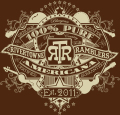 RiverTowne Ramblers - Graphic - Tan on Brown