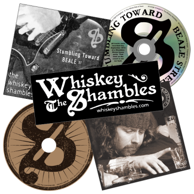 The Whiskey Shambles - CD Bundle