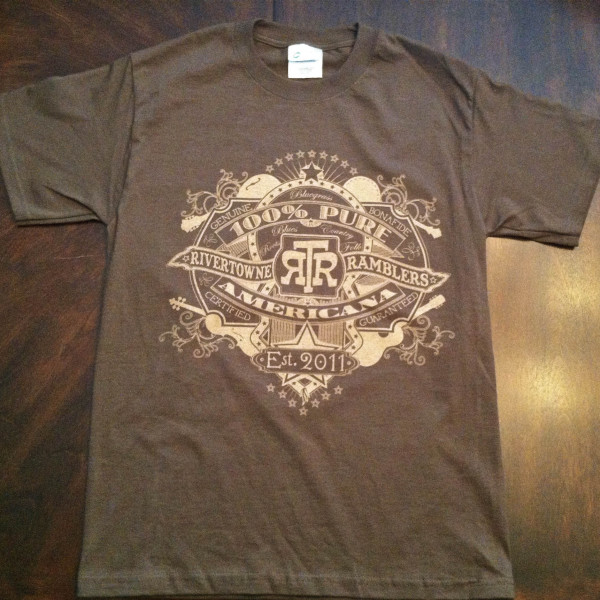 RiverTowne Ramblers - Mens T-Shirt (brown)