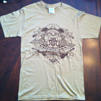 RiverTowne Ramblers - Mens T-Shirt (sand)
