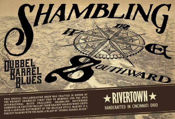 Shambling Southward - Dubbel Barrel Blues - The Whiskey Shambles