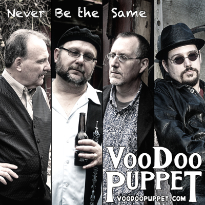 Voodoo Puppet - Never Be the Same (album art)