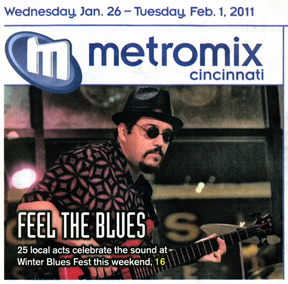 Brother James – 2011-01-25 Metromix cover