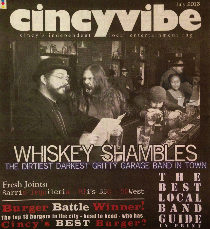 The Whiskey Shambles – 2013-07-01 – CincyVibe cover
