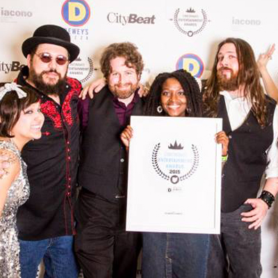 The Whiskey Shambles Win the 2015 Cincinnati Entertainment Award for Best Blues Act