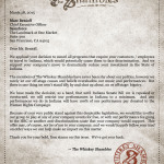 The Whiskey Shambles Letter to Salesforce CEO about Indiana SB101