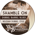 Shamble On Tap Handle Label